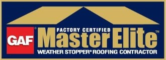 GAF - Factory Certified Master Elite Weather Stopper Roofing Contractor