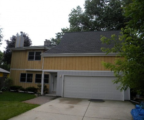 Repaired Roof by Roofing Company, Ann Arbor, MI